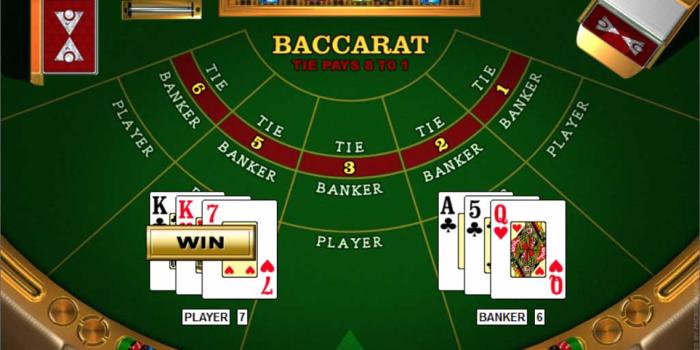 Strategi Untuk Menang 3 Card Baccarat